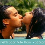 pehli baar mile hain lyrics - saajan 1991 salman khan