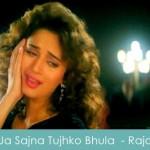 ja sajna tujhko bhula diya lyrics - raja 1995
