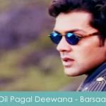 Dil Pagal Deewana Hai lyrics - barsaat 1995