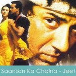 saanson ka chalna lyrics - jeet 1996