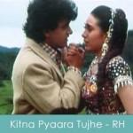 kitna pyaara tujhe rab ne banaya lyrics - raja hindustani 1996