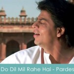Do Dil Mil Rahe Hai Lyrics Pardes 1997