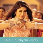 Bole Chudiyan Lyrics Kabhi Khushi Kabhie Gham