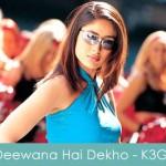 Deewana Hai Dekho Lyrics Kabhi Khushi Kabhie Gham