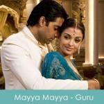 Mayya Mayya Lyrics - Guru 2007