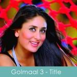 golmaal 3 title song lyrics