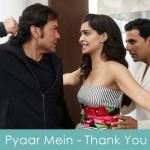Pyaar Mein Lyrics Thank You