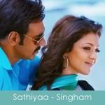 Sathiyaa Lyrics Singham