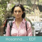 hosaana lyrics dil hote do ek deewana tha