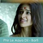 phir le aaya dil lyrics - barfi 2012