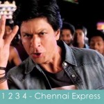 chennai express 1234 one two three four lyrics