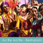 aa re aa re lyrics besharam