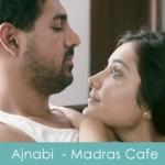 jaise mile ajnabi lyrics - madras cafe