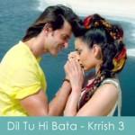 Dil tu hi bata lyrics - krrish 3 hrithik kangna