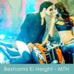 besharmi ki height lyrics - main tera hero 2014