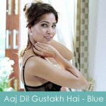 aaj dil gustakh hai lyrics - blue 2009