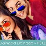 Daingad Daingad Lyrics Humpty Sharma Ki Dulhania 2014