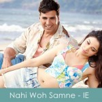 nahi woh saamne lyrics -atif aslam - it's entertainment 2014