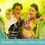 Sharabi lyrics Happy New Year 2014