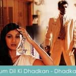 Tum Dil Ki Dhadkan Mein Lyrics Sad Dhadkan 2000