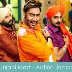 Punjabi Mast Lyrics Action Jackson 2014