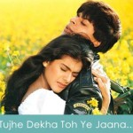 Tujhe Dekha Toh Ye Jaana Sanam Lyrics DDLJ 1995
