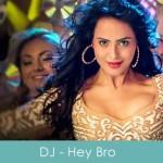 dj lyrics - mera gaana baja de - hey bro 2015