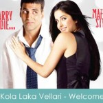 Kola Laka Vellari Lyrics Welcome 2007