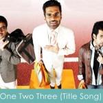 one two three lyrics - title song 2008