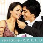yeh faasle lyrics tadpaye - rama rama kya hai drama 2008