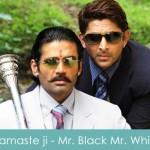 Namaste ji Namaste ji Lyrics - Mr. Black Mr. White 2008