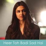Heer Toh Badi Sad Hai Lyrics Mika Singh - Tamasha 2015