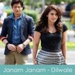 Janam Janam Lyrics Arijit Singh - Dilwale 2015