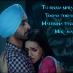 Dil-Todeya lyrics
