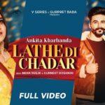 Lathe Di Chadar Lyrics - Ankita Kharbanda (1)
